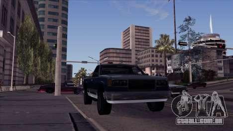 ENB Echo para GTA San Andreas segunda tela