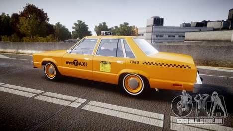 Ford Fairmont 1978 Taxi v1.1 para GTA 4 esquerda vista