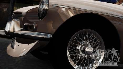 MGB GT 1965 para GTA 4 vista de volta