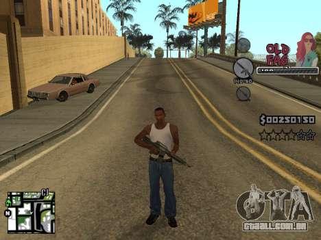 C-HUD Universal v2 para GTA San Andreas por diante tela