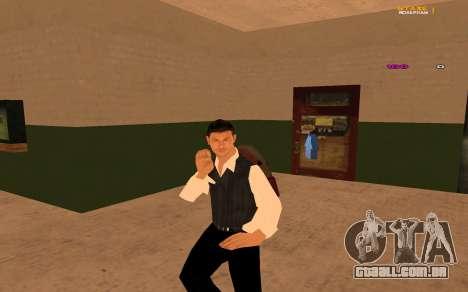 Nova animação por Ozlonshok para GTA San Andreas
