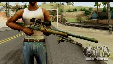 M24 from Sniper Ghost Warrior 2 para GTA San Andreas terceira tela