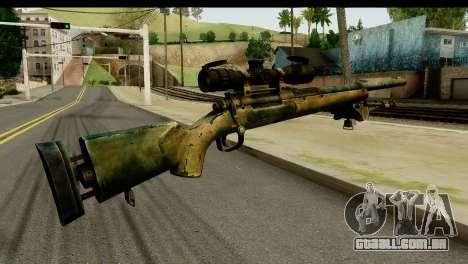 M24 from Sniper Ghost Warrior 2 para GTA San Andreas segunda tela