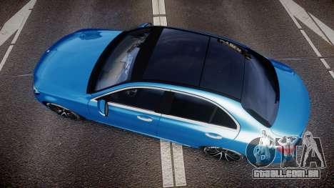 Mercedes-Benz C250 AMG (W205) 2015 para GTA 4 vista direita