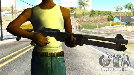 Shotgun from Global Ops: Commando Libya para GTA San Andreas terceira tela