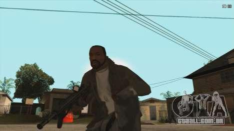 M7A3 para GTA San Andreas terceira tela