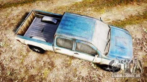 Pick-up de The Last of Us para GTA 4 vista direita
