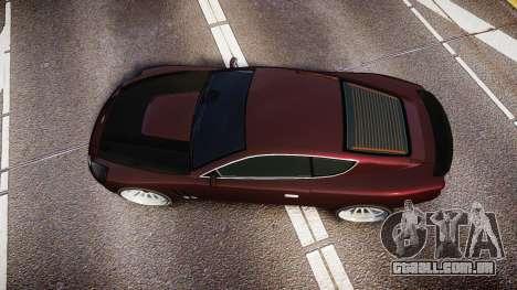 Dewbauchee Super GT Sport para GTA 4 vista direita
