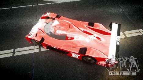 Toyota GT One 1998 para GTA 4 vista direita