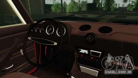 VAZ 2106 Lada v2 para GTA San Andreas vista traseira