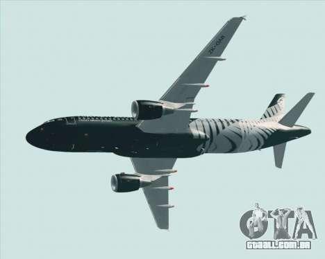 Airbus A320-200 Air New Zealand para as rodas de GTA San Andreas