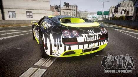 Bugatti Veyron Super Sport 2011 [EPM] Ken Block para GTA 4 traseira esquerda vista