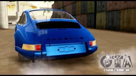 Porsche 911 Carrera 2.7RS Coupe 1973 Tunable para as rodas de GTA San Andreas