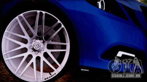 Brabus 900 para GTA San Andreas traseira esquerda vista
