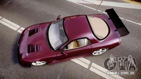 Mazda RX-7 Custom para GTA 4 vista direita