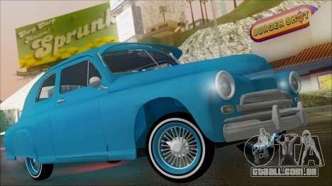 GAZ M20 Aero Boom para GTA San Andreas