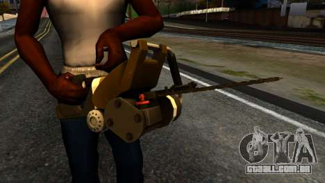 New Chainsaw para GTA San Andreas terceira tela