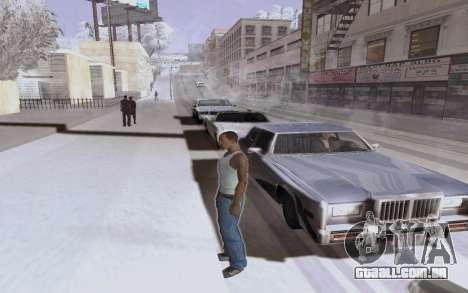 Nuevo ENB Series para GTA San Andreas por diante tela