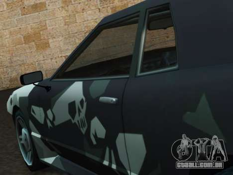 Elegy Korch para GTA San Andreas vista direita