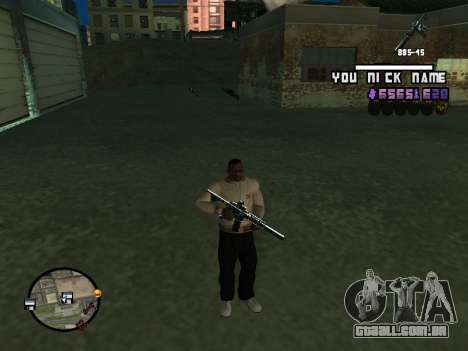C-HUD by SantiManti para GTA San Andreas