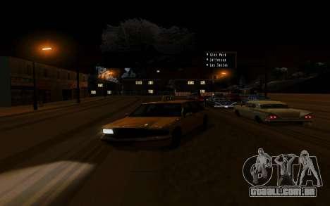Nuevo ENB Series para GTA San Andreas segunda tela