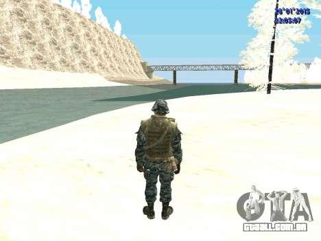 As forças especiais da Federação russa (CoD Blac para GTA San Andreas terceira tela