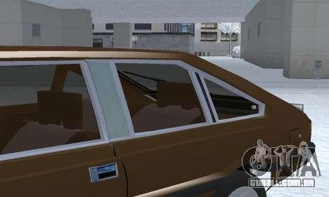 FSO Polonez 2.0X Coupe para GTA San Andreas vista inferior