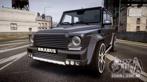 Mercedes-Benz G65 Brabus rims2 para GTA 4