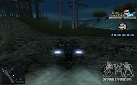 C-HUD SWAG Killerz para GTA San Andreas oitavo tela