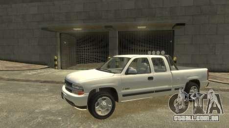 Chevrolet Silverado 1500 para GTA 4