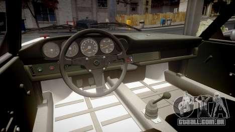 Porsche 911 Carrera RSR 3.0 1974 para GTA 4 vista interior