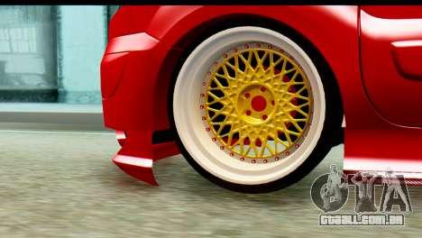 Renault Kangoo para GTA San Andreas traseira esquerda vista