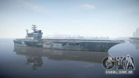 USS Flysenhower para GTA 4 segundo screenshot