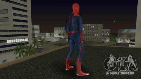 The Amazing Spider-Man para GTA Vice City por diante tela