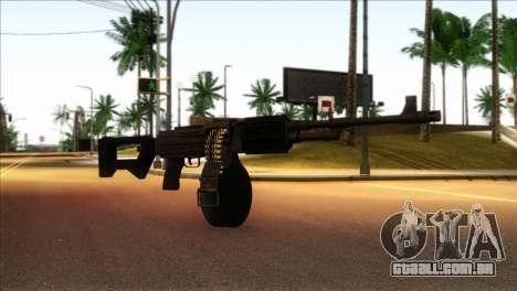 RPK from Kuma War para GTA San Andreas