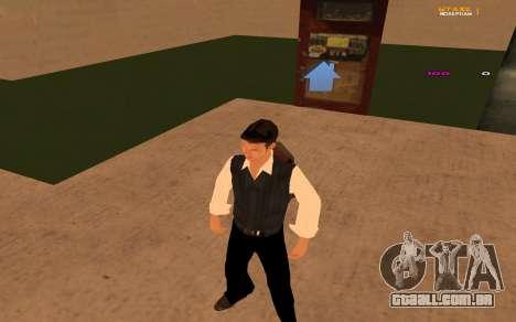 Nova animação por Ozlonshok para GTA San Andreas terceira tela