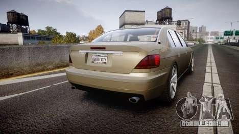 Ubermacht Oracle Elegance v2.0 para GTA 4 traseira esquerda vista