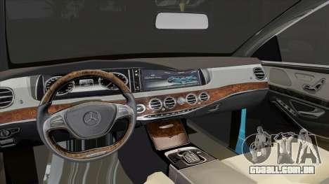 Mercedes-Benz S350 2015 Bluetec para GTA San Andreas vista direita