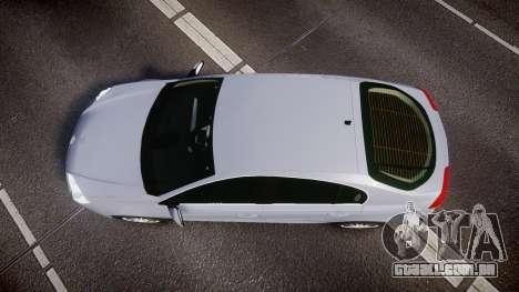Renault Laguna III 2007 para GTA 4 vista direita
