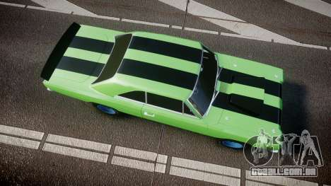 Dodge Dart HEMI Super Stock 1968 rims3 para GTA 4 vista direita