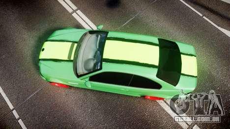 BMW M3 E46 Green Editon para GTA 4 vista direita