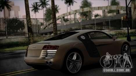 Audi R8 para GTA San Andreas