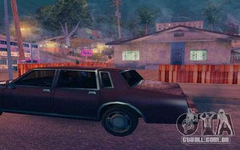 ENB by Dvi v 1.0 para GTA San Andreas quinto tela