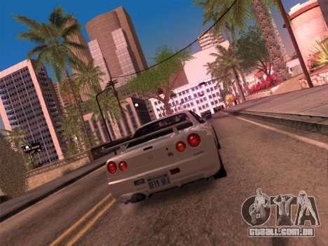 Los Santos MG19 ENB para GTA San Andreas terceira tela