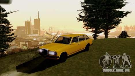 Transporte novo e compra para GTA San Andreas segunda tela