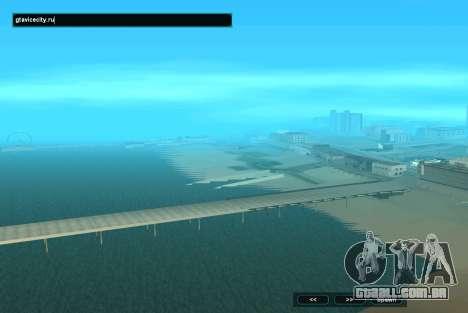 SampGUI Aqua para GTA San Andreas segunda tela