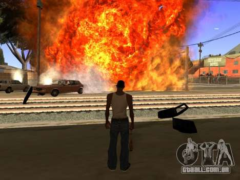 New Realistic Effects 4.0 Full Final Version para GTA San Andreas terceira tela