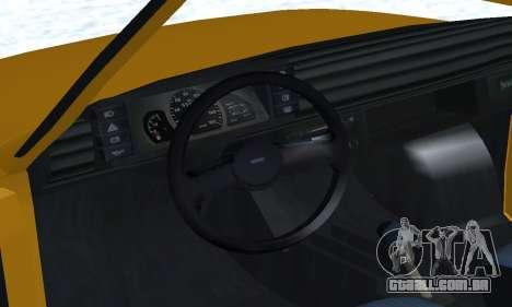 Fiat 126p FL para as rodas de GTA San Andreas