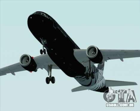 Airbus A320-200 Air New Zealand para o motor de GTA San Andreas