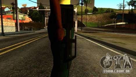 Assault SMG from GTA 5 para GTA San Andreas terceira tela